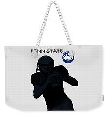 Penn State Football Weekender Tote Bag by David Dehner