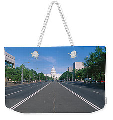 Pennsylvania Avenue, Washington Dc Weekender Tote Bag by Panoramic Images