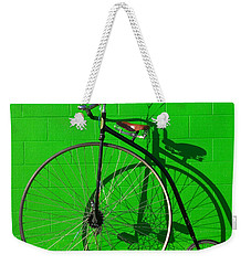 Penny Farthing Bike Weekender Tote Bag by Garry Gay