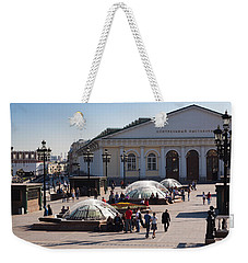 People At Manezh Exhibition Center Weekender Tote Bag by Panoramic Images