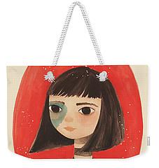 Permanent Contemplation Weekender Tote Bag by Carolina Parada
