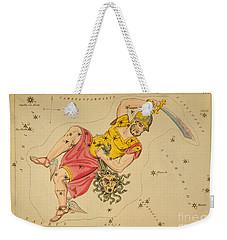 Perseus And Caput Medusae Weekender Tote Bag by Science Source