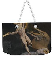 Perseus Slaying The Medusa Weekender Tote Bag by Henry Fuseli