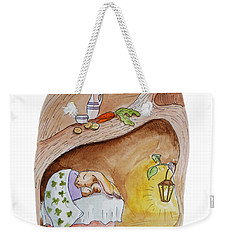 Peter Rabbit  Weekender Tote Bag by Irina Sztukowski