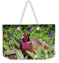 Pheasant Weekender Tote Bag by Martin Newman