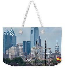 Philadelphia Skyline El Galeon Andalucia Weekender Tote Bag by Terry DeLuco