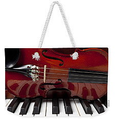 Piano Reflections Weekender Tote Bag by Garry Gay