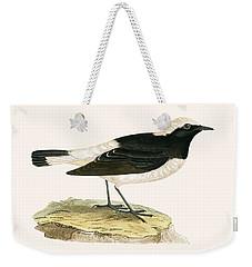 Pied Wheatear Weekender Tote Bag by English School