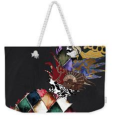 Pineapple Brocade Weekender Tote Bag by Mindy Sommers