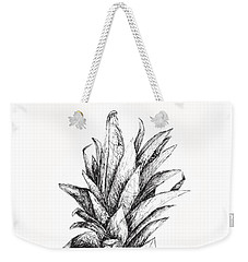 Pineapple Weekender Tote Bag by Nancy Ingersoll