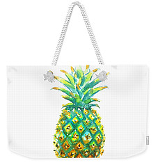 Pineapple Window To The Tropics Weekender Tote Bag by Carlin Blahnik