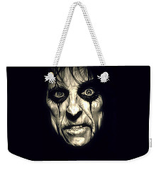 Poison Alice Cooper Weekender Tote Bag by Fred Larucci