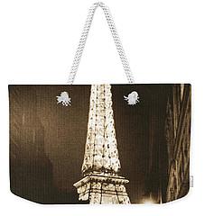 Postcard From Paris- Art By Linda Woods Weekender Tote Bag by Linda Woods