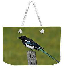 Prairie Perch Weekender Tote Bag by Tony Beck