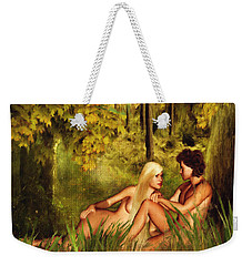 Pre-consciousness Weekender Tote Bag by Lourry Legarde