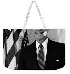 President George Bush Sr Weekender Tote Bag by War Is Hell Store