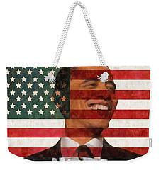 President Obama Hope Weekender Tote Bag by Dan Sproul