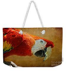 Pretty Boy Weekender Tote Bag by Lois Bryan