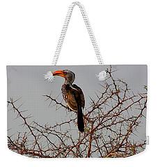 Prickly Perch Weekender Tote Bag by Stacie Gary