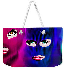 Pussy Riot Weekender Tote Bag by Tony Rubino