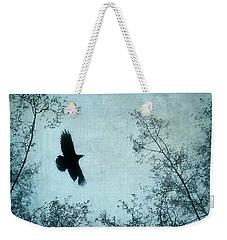 Spread Your Wings Weekender Tote Bag by Priska Wettstein