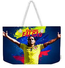 Radamel Falcao Weekender Tote Bag by Semih Yurdabak