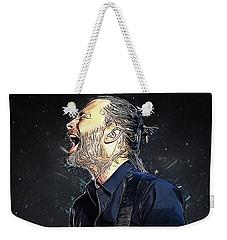 Radiohead - Thom Yorke Weekender Tote Bag by Semih Yurdabak