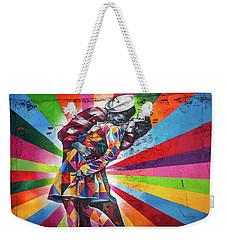 Rainbow Kiss Weekender Tote Bag by Az Jackson