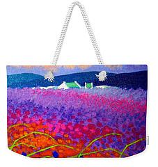 Rainbow Meadow Weekender Tote Bag by John  Nolan