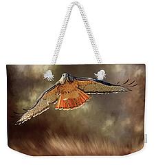 Raptor Weekender Tote Bag by Donna Kennedy