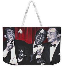 Rat Pack Weekender Tote Bag by Luis Ludzska