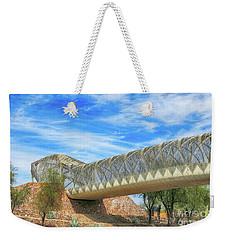 Rattlesnake Bridge Weekender Tote Bag by Teresa Zieba