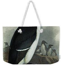 Razorbill Weekender Tote Bag by Archibald Thorburn