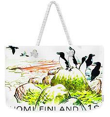 Razorbills Weekender Tote Bag by Lanjee Chee