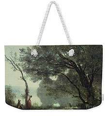 Recollections Of Mortefontaine Weekender Tote Bag by Jean Baptiste Corot