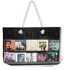 Record Store Burlington Vermont Weekender Tote Bag by Edward Fielding