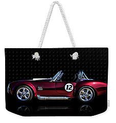 Red Cobra Weekender Tote Bag by Douglas Pittman