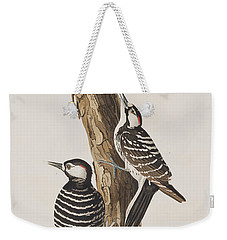 Red-cockaded Woodpecker Weekender Tote Bag by John James Audubon