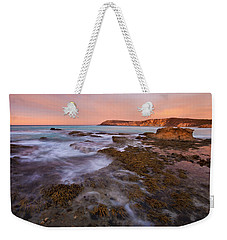 Red Dawning Weekender Tote Bag by Mike  Dawson