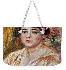 Renoir: Adele Besson, 1918 Weekender Tote Bag by Granger
