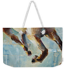 Ride Like You Stole It Weekender Tote Bag by Frances Marino