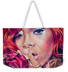 Rihanna Weekender Tote Bag by Brian Owens