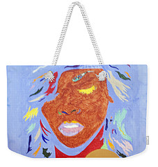Rihanna Loud Weekender Tote Bag by Stormm Bradshaw