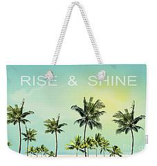 Rise And  Shine Weekender Tote Bag by Mark Ashkenazi
