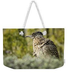 Roadrunner On Guard  Weekender Tote Bag by Saija  Lehtonen