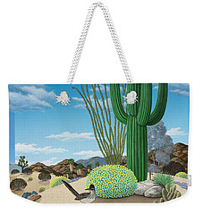 Roadrunner Weekender Tote Bag by Snake Jagger