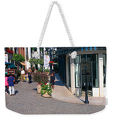 Rodeo Drive, Beverly Hills, California Weekender Tote Bag by Panoramic Images