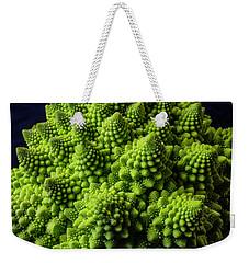 Romanesco Broccoli Weekender Tote Bag by Garry Gay