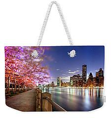 Romantic Blooms Weekender Tote Bag by Az Jackson