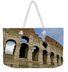 Rome's Colosseum Weekender Tote Bag by Sandy Taylor